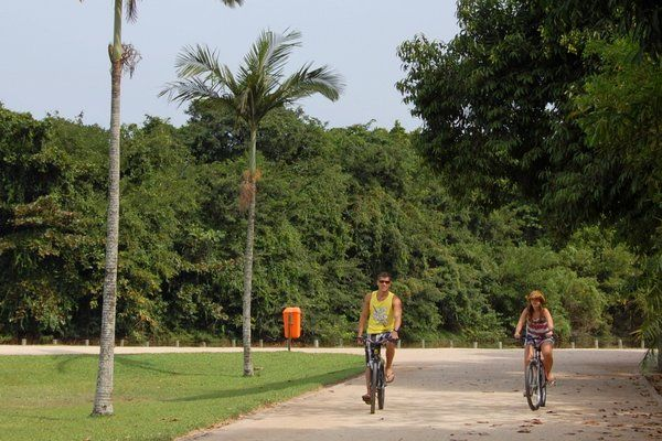 Bicicletas Bosque da Barra Rio de Janeiro