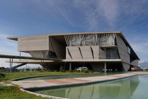 Edificio de la Ciudad de las Artes en Barra de Tijuca Rio de Janeiro