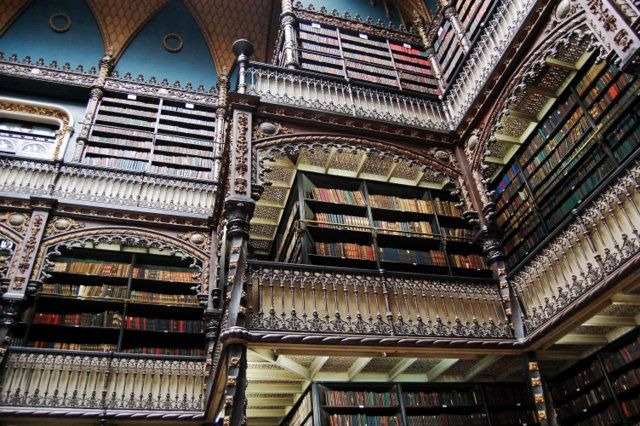 Gabinete portugues de lectura lugares turisticos de rio de janeiro menos visitados