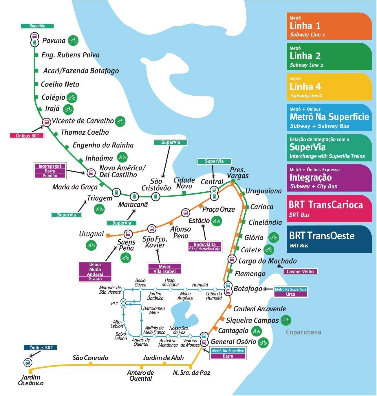 mapa-metro-rio-de-janeiro