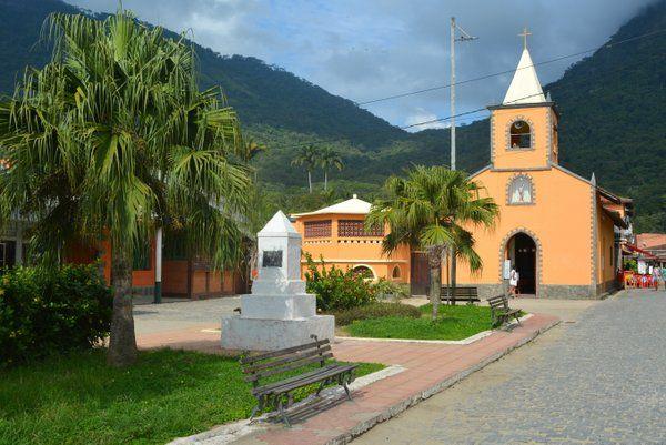 Iglesia de São Sebastião Ilha Grande Isla Grande Rio de Janeiro