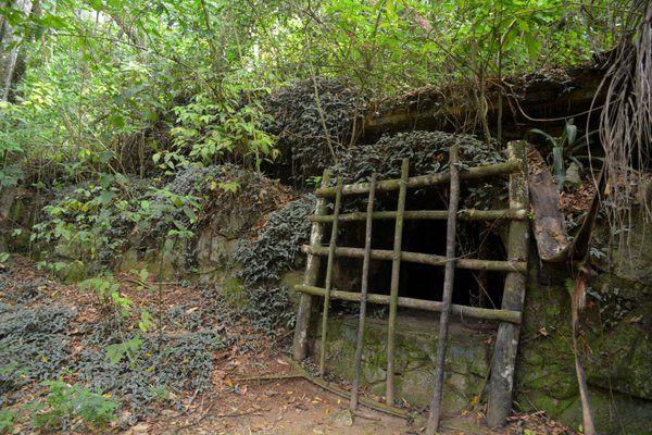 Restos del antiguo lazareto Isla Grande ilha Grande Rio de Janeiro