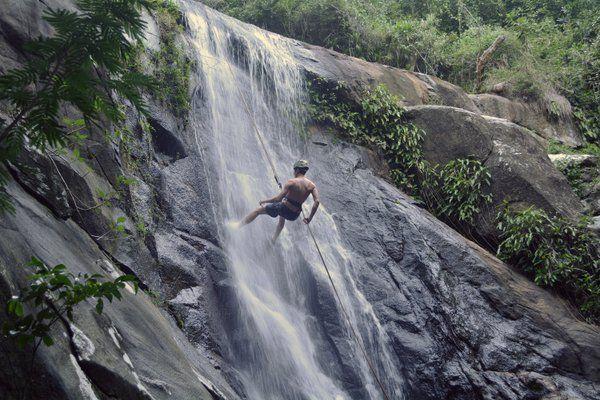 Cachoeira da Feiticeira isla grande brasil