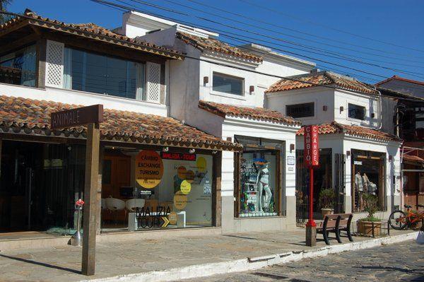 Tiendas en la Rua das Pedras Búzios Buzios Rio de Janeiro