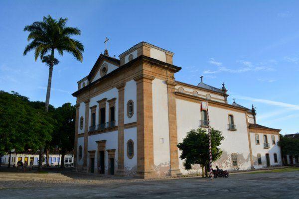 Iglesia de Nossa Senhora dos Remedios Paraty Rio de Janeiro
