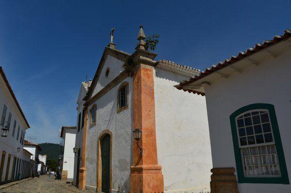 Iglesia Nuestra Senhora del Rosario y São Benedito Paraty Rio de Janeiro