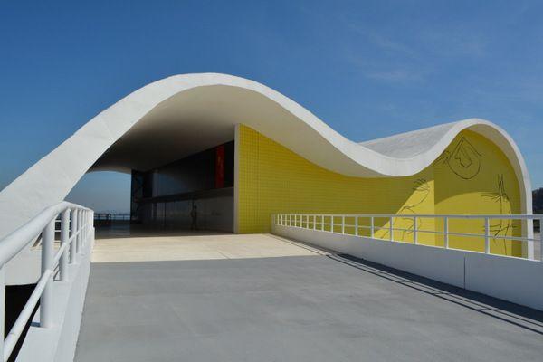 Teatro Popular Oscar Niemeyer Camino Niemeyer Niteroi Rio de Janeiro