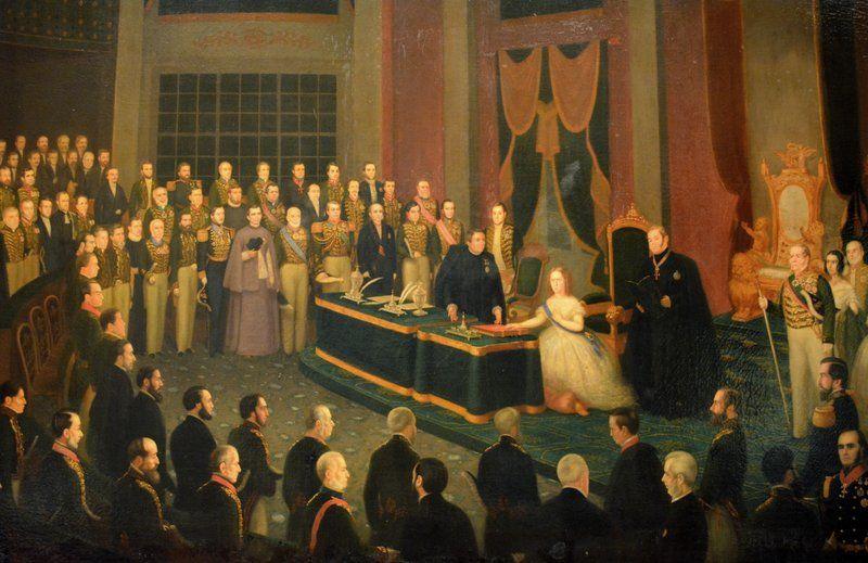 La Princesa Isabel firma la ley áurea para abolir la esclavitud Historia de Rio de Janeiro