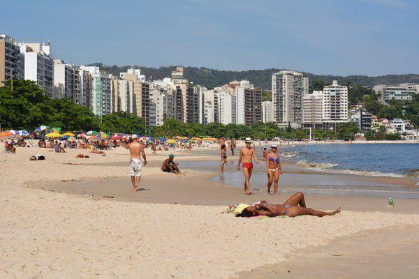 Playa de Icaraí Niteroi Rio de Janeiro