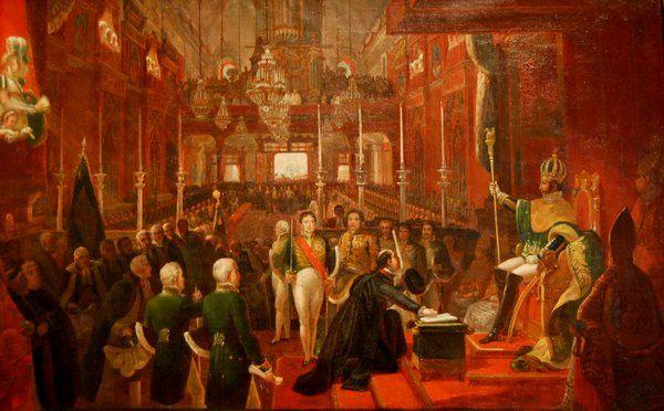 Coronación de Pedro I Historia de Rio de Janeiro