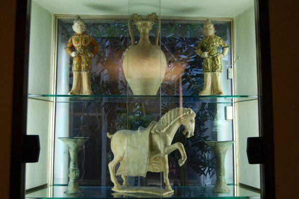 Piezas pertenecientes a la colección oriental Casa Museo Eva Klabin Rio de Janeiro