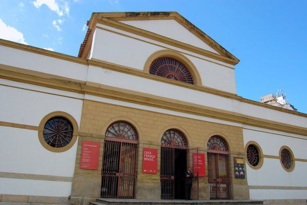 Casa Francia Brasil centros culturales en Rio de Janeiro