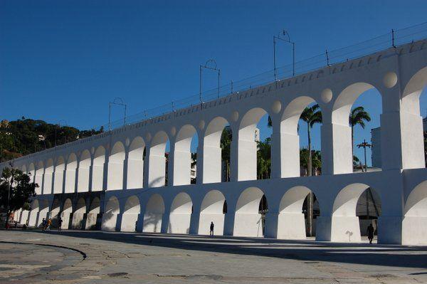 Arcos de Lapa Rio de Janeiro aqueduto da carioca