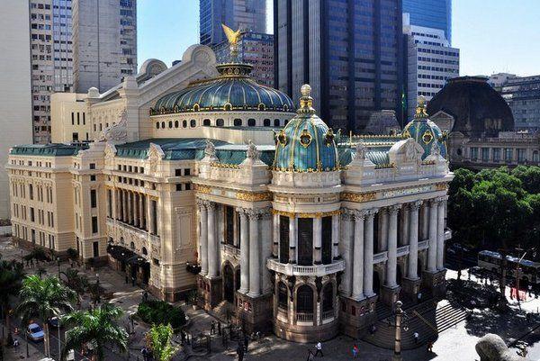 teatro municipal en el centro de rio vacaciones en Río de Janeiro