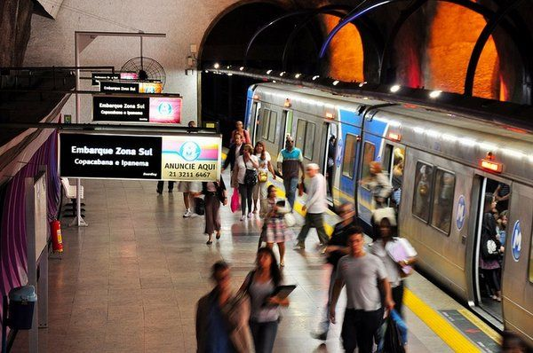 moderno metro de Rio vacaciones en Río de Janeiro