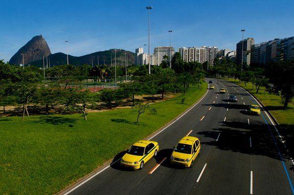 taxi Como moverse en Rio de Janeiro