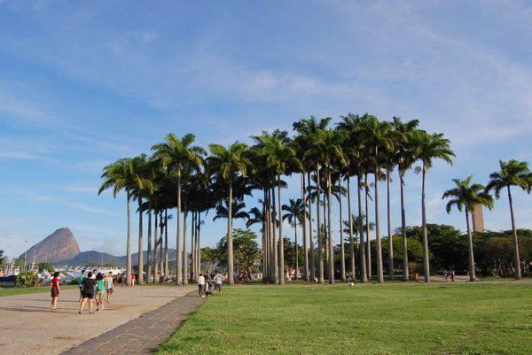 Vista del Parque do Flamengo alojamientos en Flamengo y Catete Rio de Janeiro