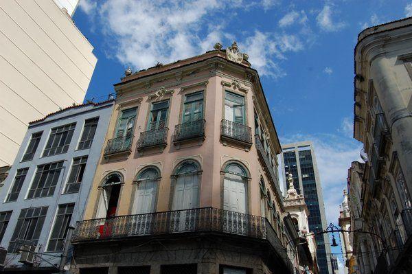 Casas de la Rua do Mercado en el centro historico de Rio Alojamiento en Santa Teresa Lapa Centro Rio de Janeiro
