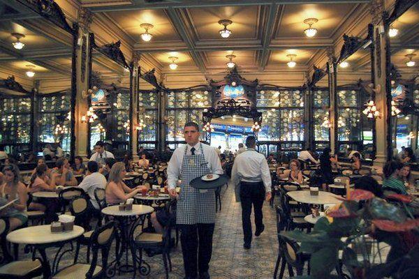 Confeitaria Colombo Restaurantes en el centro de Rio de Janeiro