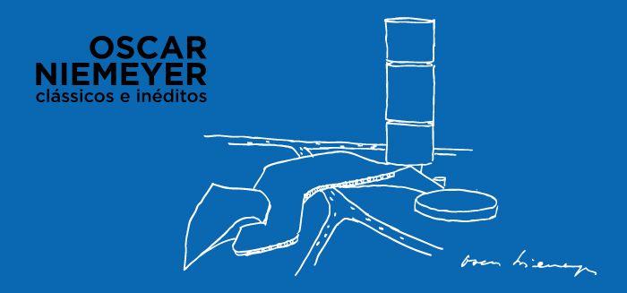 """Exposición """"Oscar Niemeyer: Clásicos e Inéditos"""" en el Palacio Imperial de Río de Janeiro"""