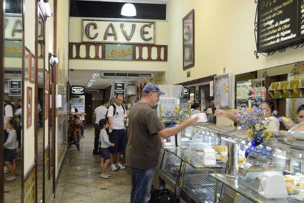 casa cave restaurantes en el centro de Rio de Janeiro