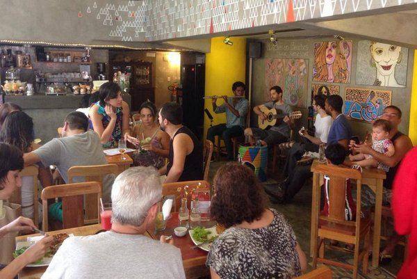 gaia Restaurantes en Copacabana Rio de Janeiro