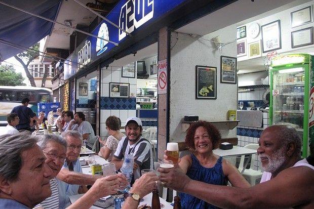 pavao azul Restaurantes en Copacabana Rio de Janeiro