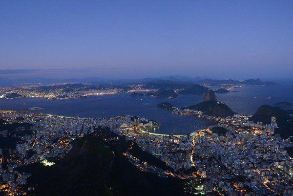 Espectaculares vistas al caer la tarde desde el Corcovado - los mejores lugares para ver la puesta de sol en Río de Janeiro