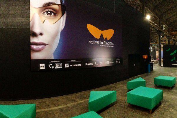 Cartel del Festival de Cine de Rio de Janeiro 2014 Festival do Rio Festival de cine rio de janeiro