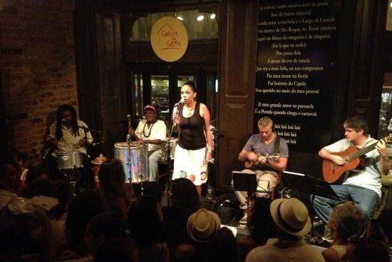 Concierto en Carioca da Gema Musica en vivo en Rio de Janeiro
