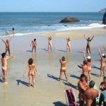 Playa de Abricó, oficialmente la primera playa nudista en Río de Janeiro