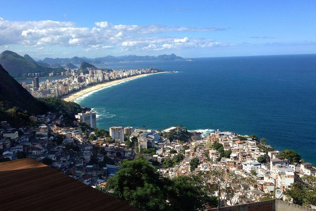 vistas desde lo alto de Vidigal Rio de Janeiro