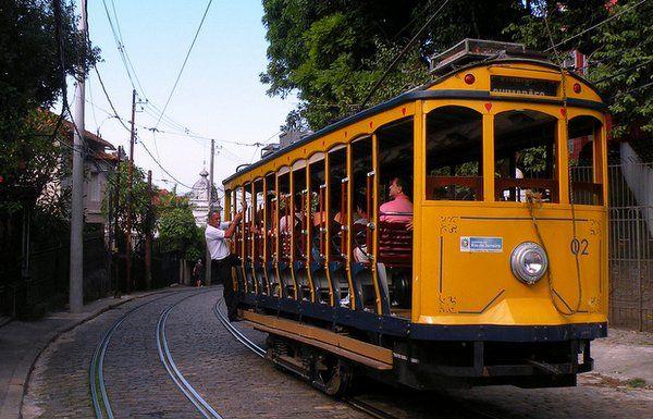 bondinho de santa teresa Rio de Janeiro
