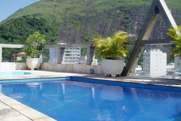 hotel Augustos copacabana hoteles con piscina en copacabana