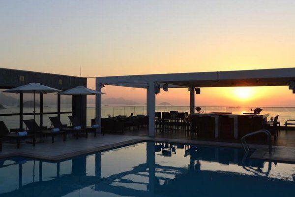hotel pestana rio atlantica hoteles con piscina en copacabana