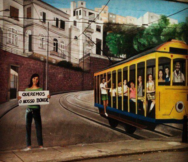 arte urbano en santa teresa rio de janeiro