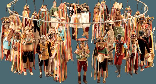 Representación de Fiestas y Tradiciones populares casa do pontal rio de janeiro