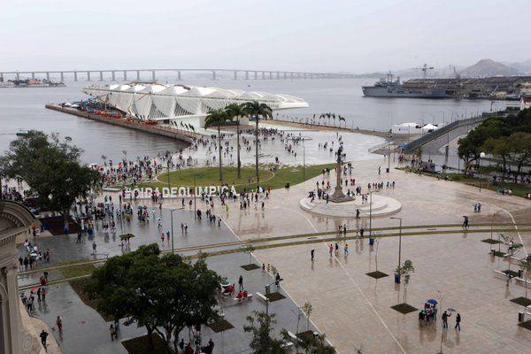 paseos gratuitos en rio de janeiro boulevard olimpico