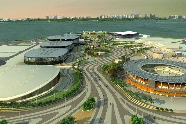 barra da tijuca rio de janeiro instalaciones olimpicas
