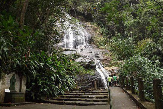 paseos gratuitos en rio de janeiro cascada de taunay tijuca