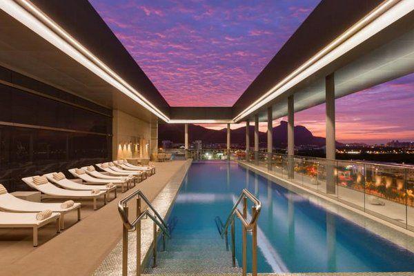 Hotel Hilton Barra hoteles en Barra de Tijuca rio de janeiro