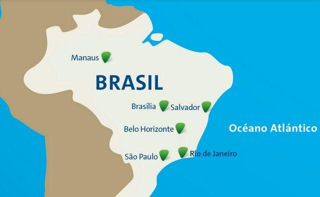 ciudades del fútbol juegos olimpicos 2016 rio de janeiro