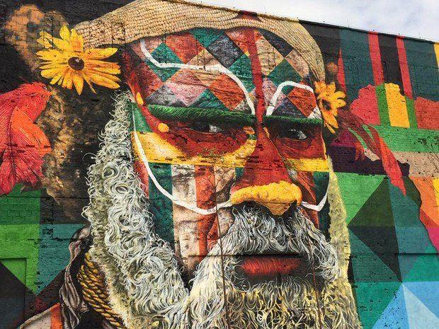 mural Etnias boulevard olímpico de río de janeiro