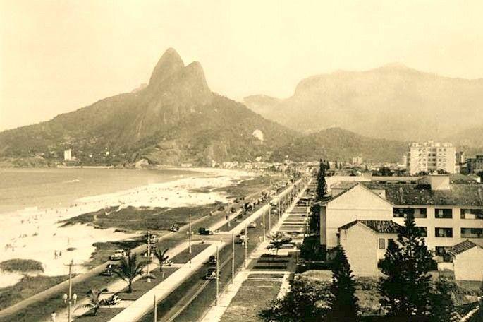 Ipanema a mediados del siglo XX Rio de Janeiro