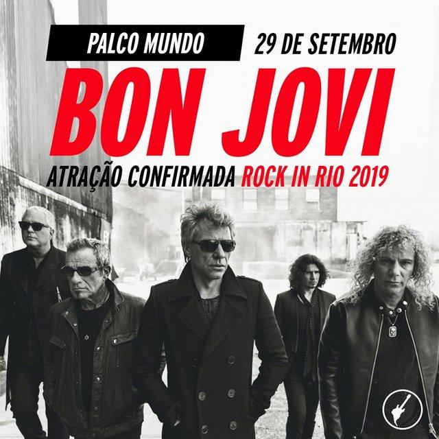 Bon Jovi Rock in Rio 2019 Rio de Janeiro Brasil
