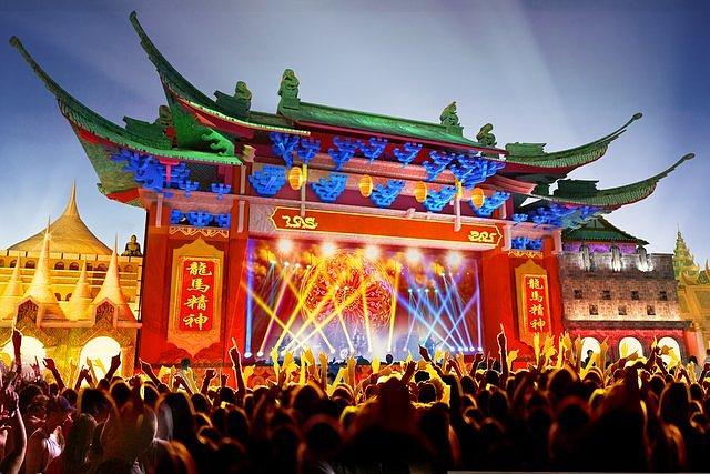 Recreación del escenario Rock Street Asia