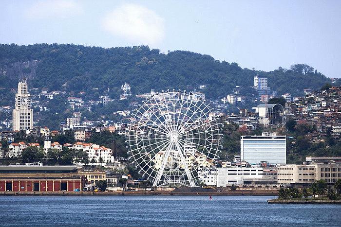 Situación de Rio Star en la zona portuaria de Río de Janeiro