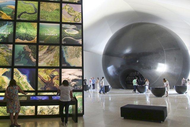 Exposición Terra en el Museo del Mañana de Río de Janeiro